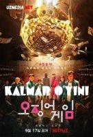 Kalmar o'yini / Kalmardagi o'yin Netflix seriali 1-2-3-4-5-6-7-8-9-10-11-12-13-14-15 qismlar Uzbek tilida O'zbek tarjima 2021 HD