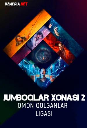 Jumboqlar xonasi 2: Omon qolganlar ligasi Uzbek tilida 2021 O'zbekcha tarjima kino Full HD tas-ix skachat